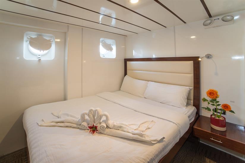 Standard double cabin - MV Discovery Palawan