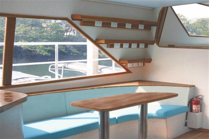 Lounge area - Nortada Liveaboard