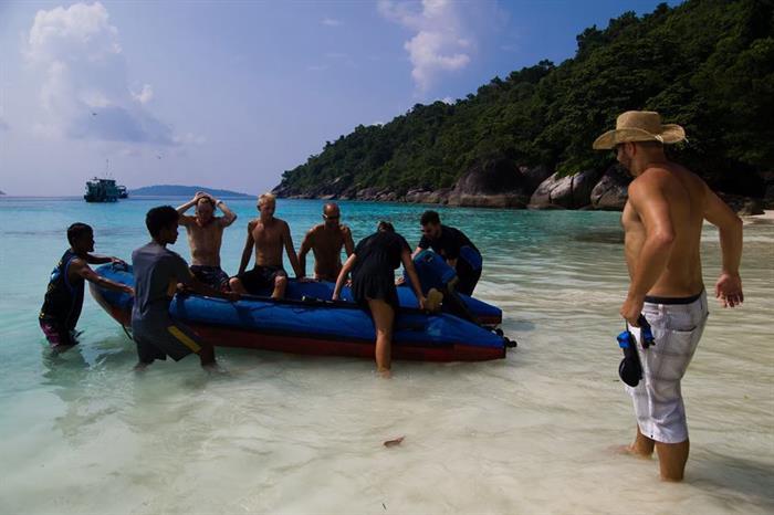 Beach trip - MV Similan Explorer