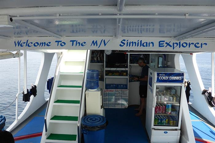Pantry deck - MV Similan Explorer