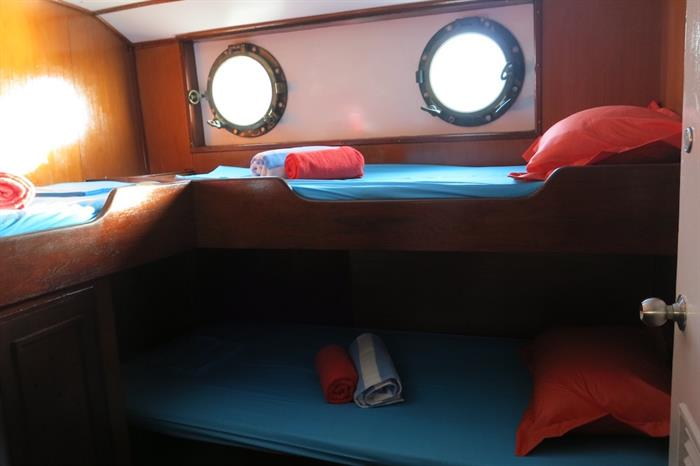 Cabin A - MV Empress II Indonesia