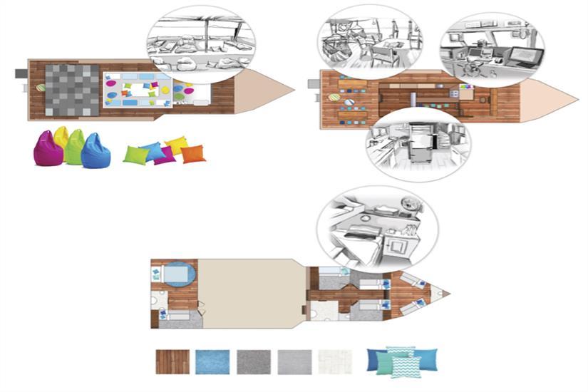 MV Empress Deck Plan