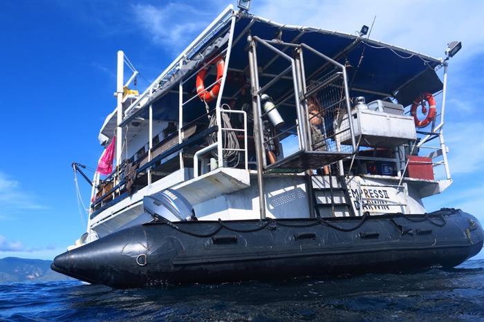 Dive tender & Room for gear storage - MV Empress II