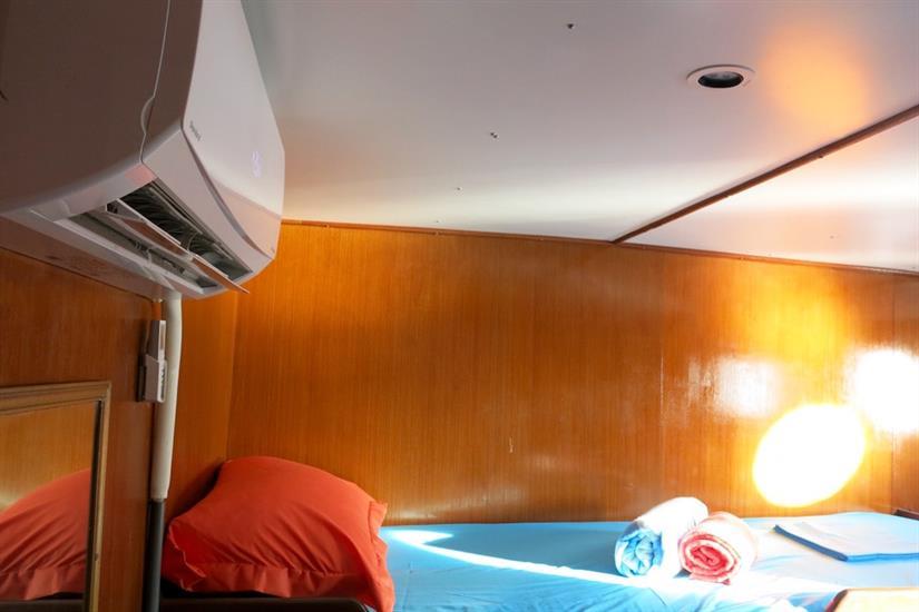 Cabin A - MV Empress II Indonesia