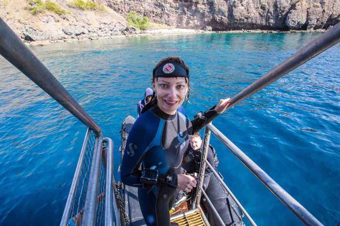 Dive Lift - MV Empress II