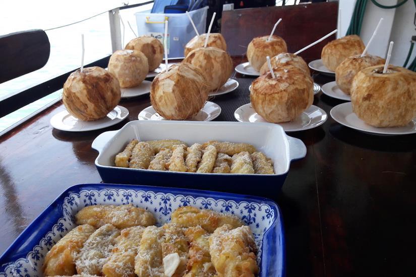 Readily available snacks - MV Empress II Indonesia