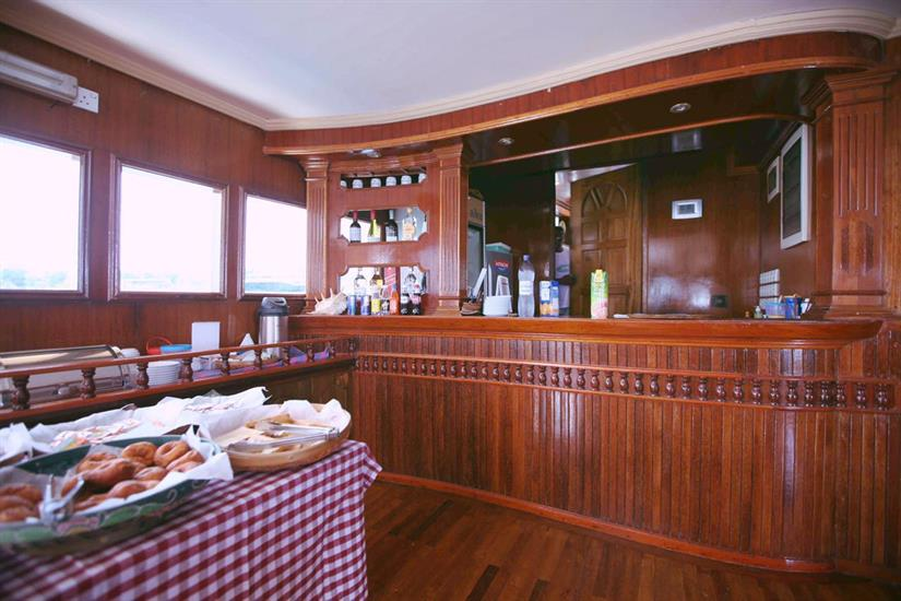 Dining & Bar area - Sharifa Liveaboard