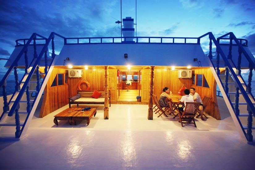 Open air relaxation - Sharifa Liveaboard