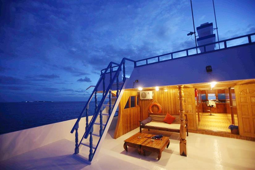 Sharifa Liveaboard Maldives
