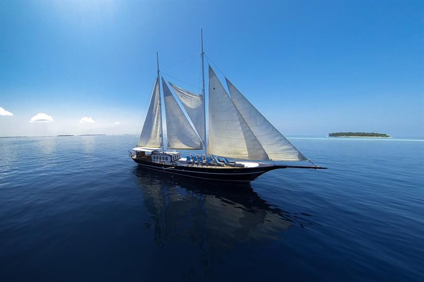 Dream Voyager sailing yacht Maldives