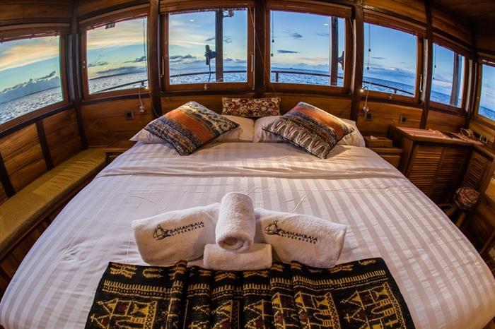 MV Samambaia - Master Cabin
