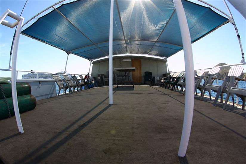 Sun Deck - Sea Escape Liveaboard Socorro
