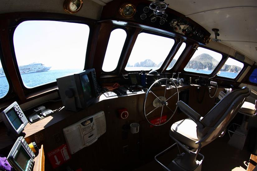 Captains Helm - The Sea Escape Dive Liveaboard