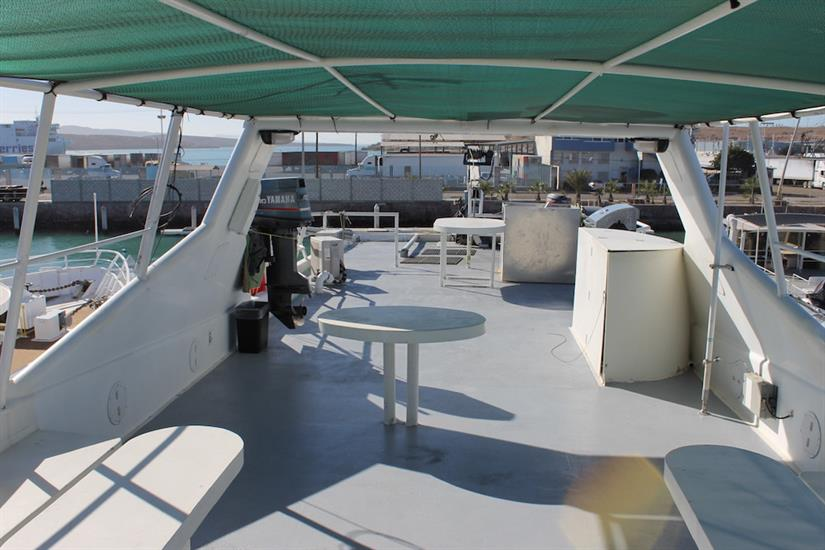 Top Deck - Southern Sport Liveaboard Mexico