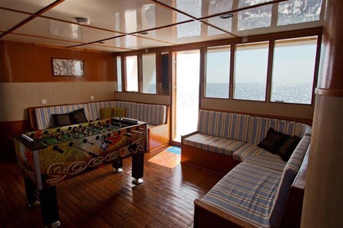 Games room - MV Ari Queen