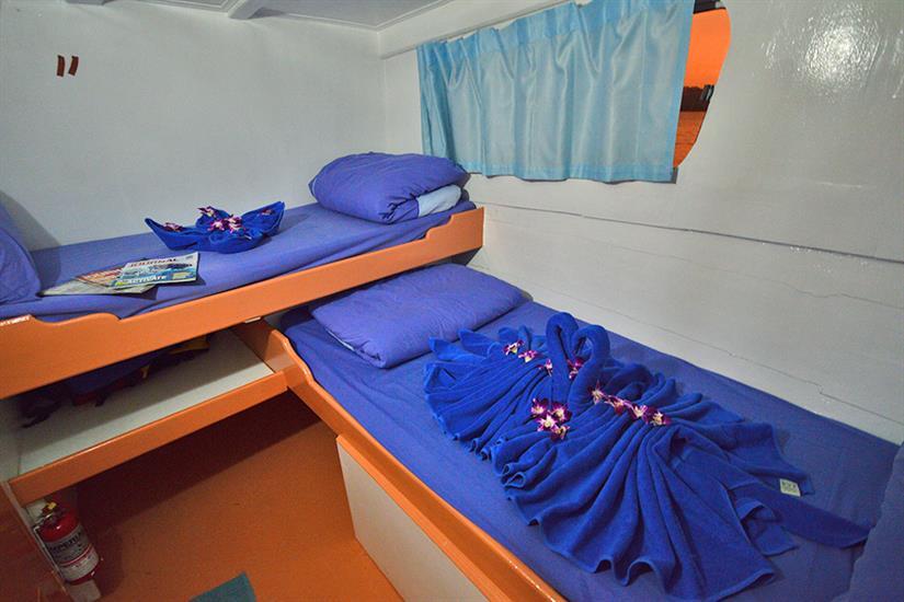 Twin Cabin - Manta Queen 7 Thailand