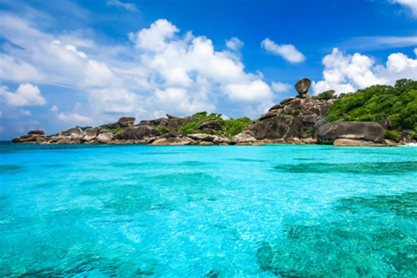 Beautiful Similan Islands