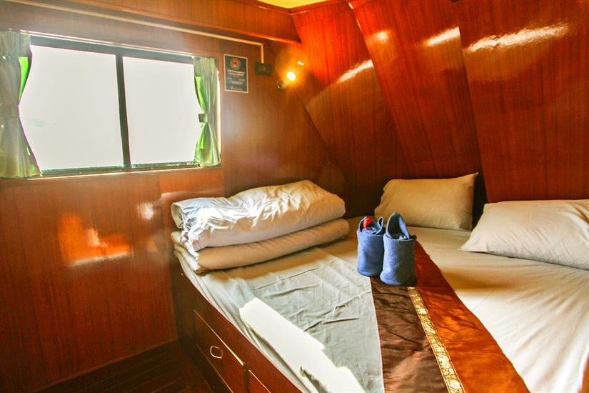 Double Cabin - Manta Queen 1 Thailand