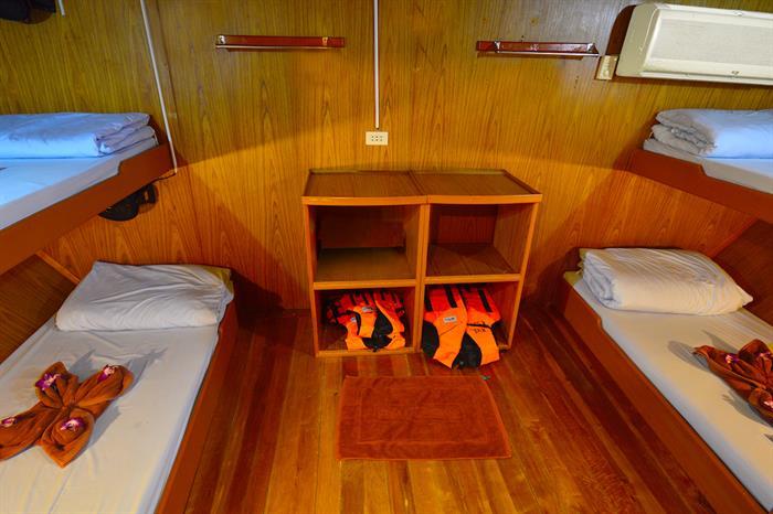 Quad Cabin - Manta Queen 2