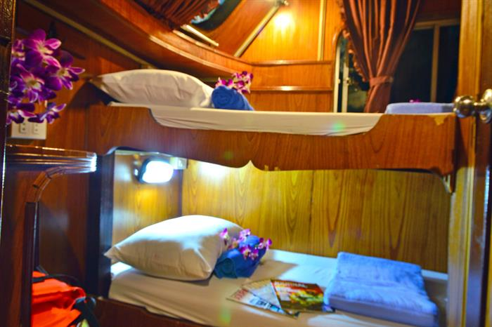 Comfortable twin bunk cabins - Manta Queen 6
