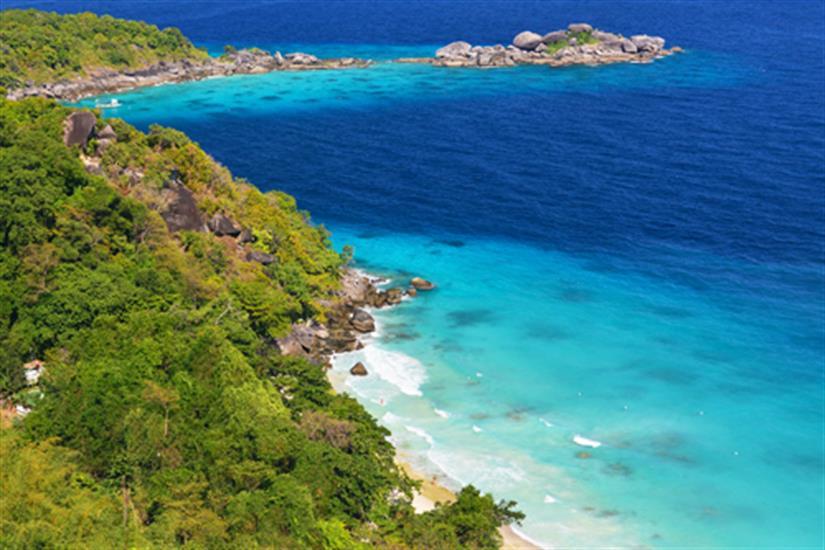 Beautiful Similan Islands Thailand