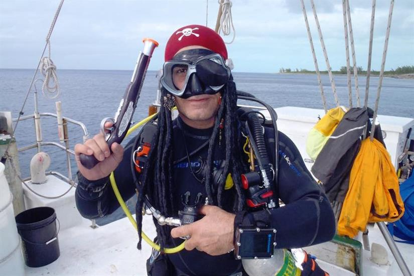 Diving with Prates aboard Blackbeards Sea Explorer