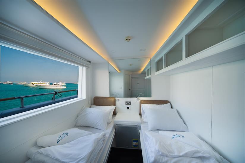 Main Deck Twin Cabin