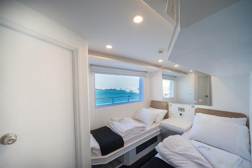 Main Deck Cabin - M/Y Lucy