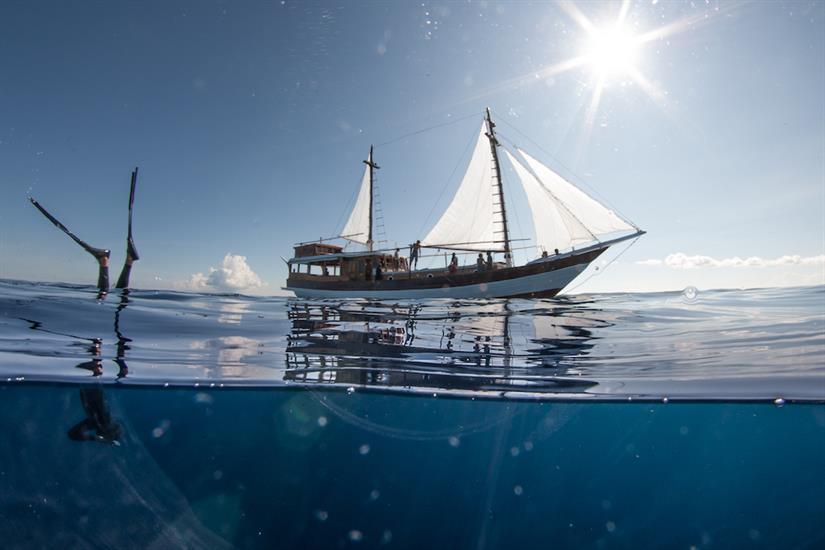 Freediving on Kira Kira Liveaboard