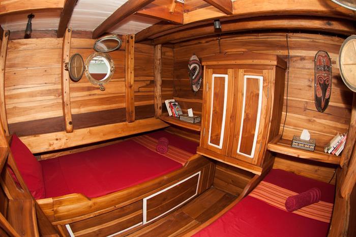 Cabin 1 - Kira Kira Liveaboard Indonesia