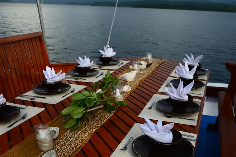 Open Air Dining Area Indonesia