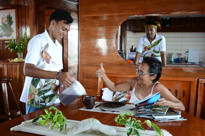 Dining Area - Lady Denok Indonesia