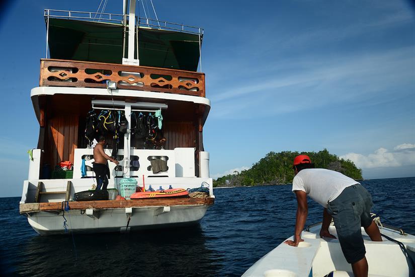 Lady Denok Dive Deck & Tender