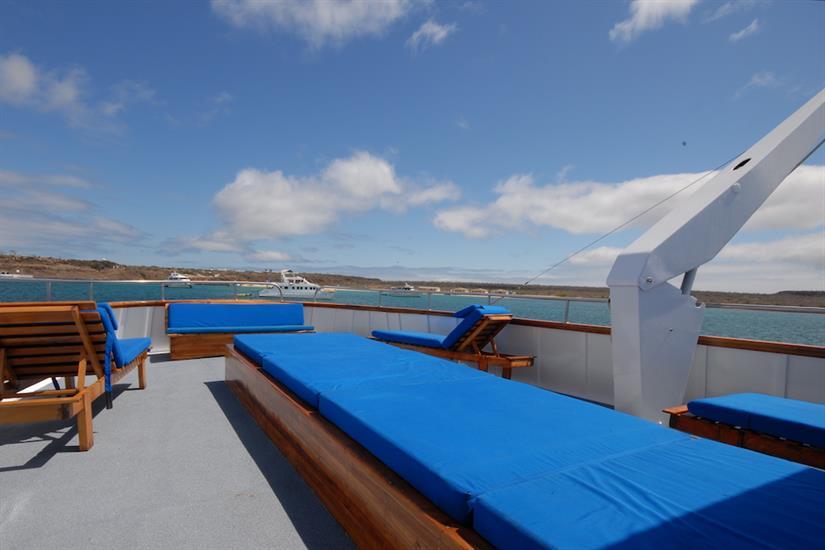 Sun deck loungers - Beluga Galapagos