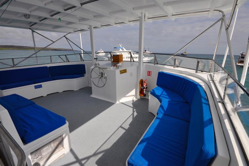 Relaxation area - Beluga Galapagos