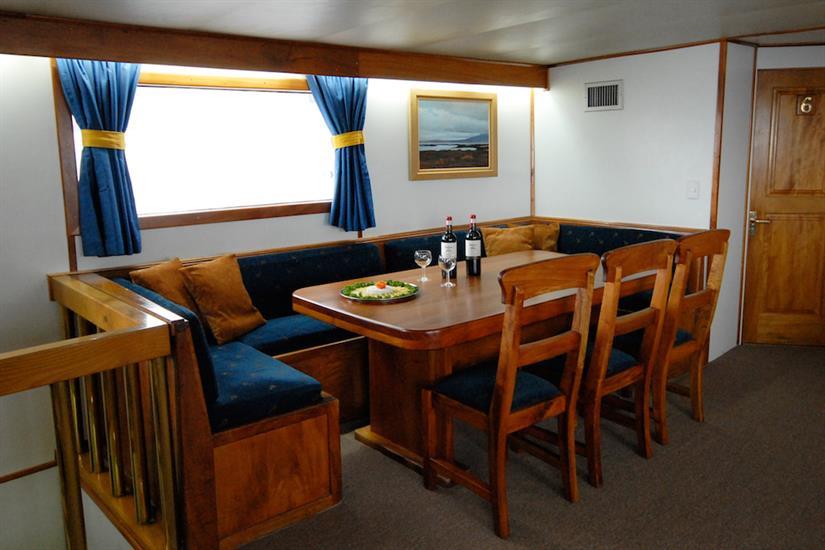 Indoor dining area - Beluga Galapagos