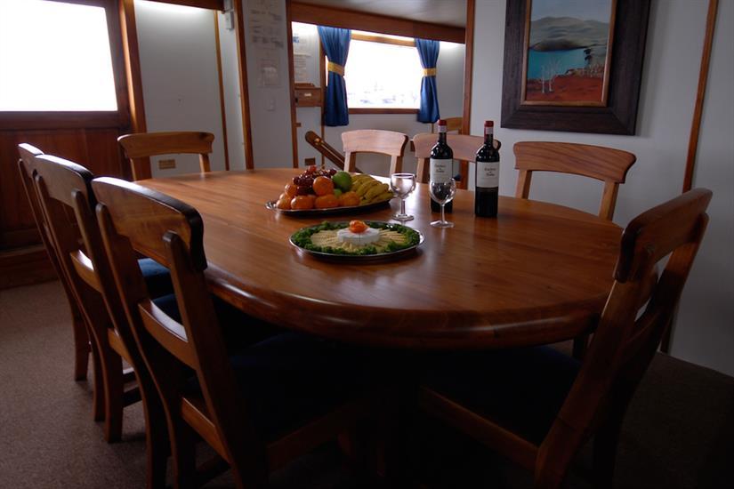 Dining Area - Beluga Galapagos