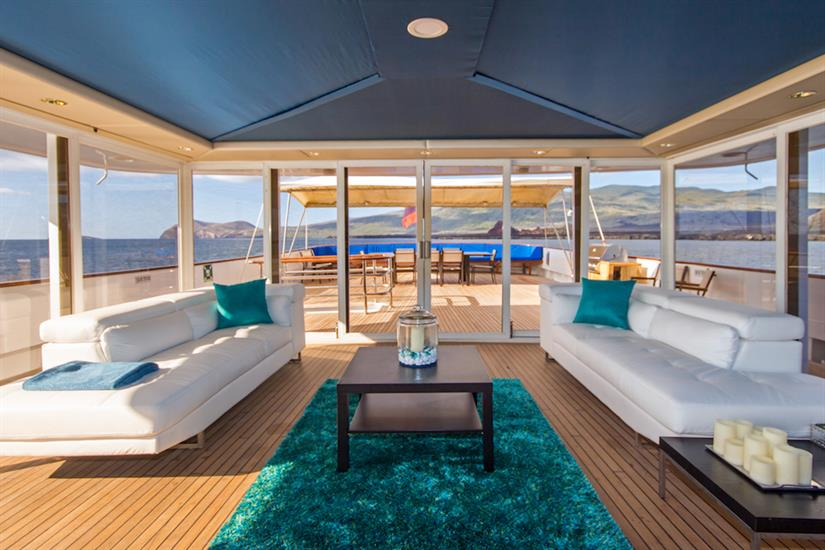 Beautiful Sky Lounge - perfect for relaxing