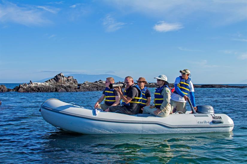 Tender rides - MY Passion Galapagos