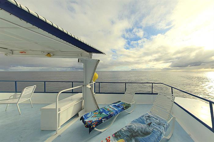 Comfortable sun deck -  Nautilus Under Sea