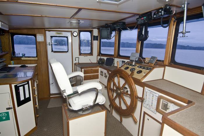 Captains helm - Nautilus Under Sea