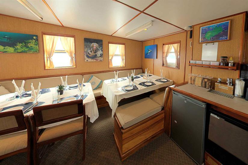 Indoor dining area - Nautilus Under Sea