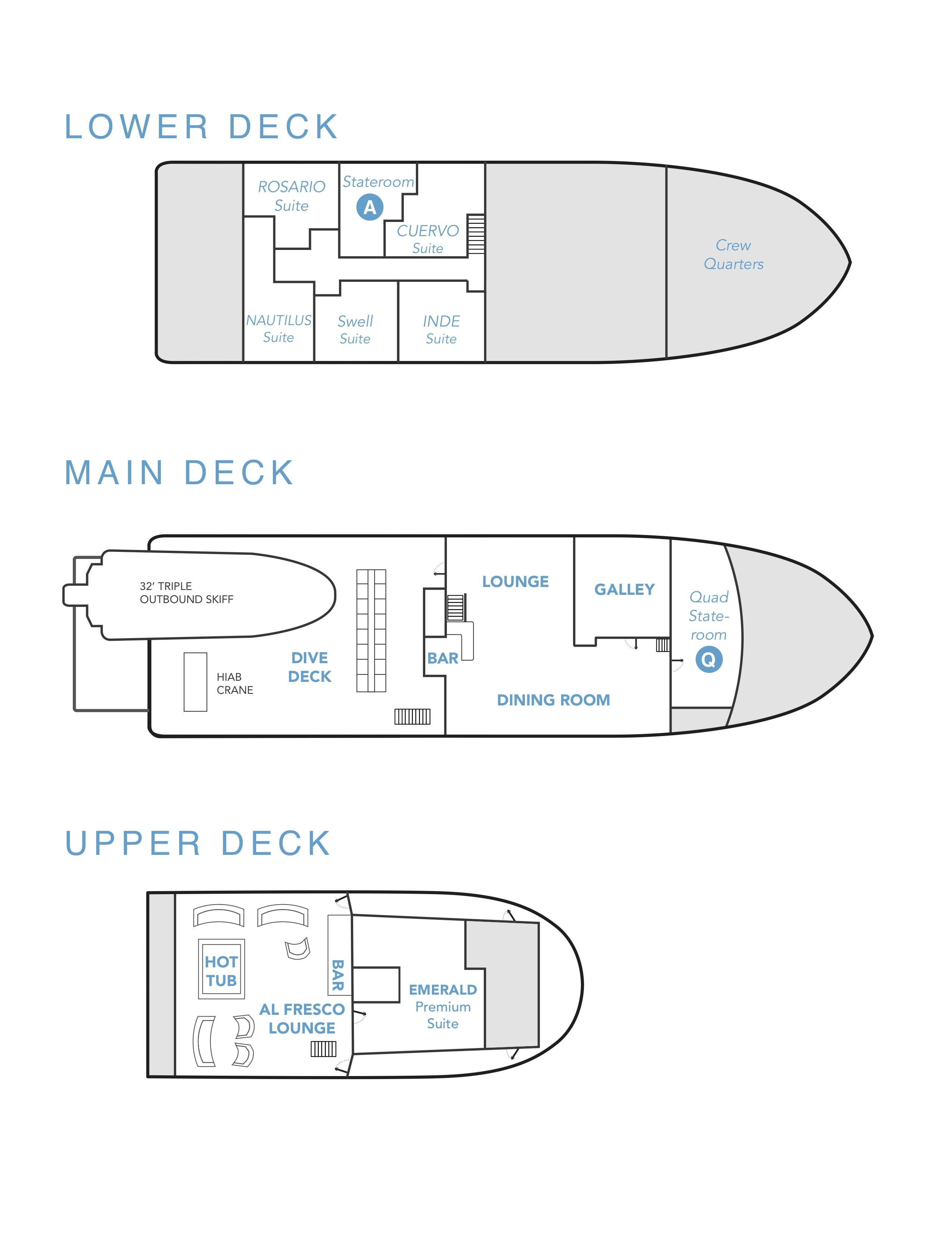 Nautilus Under Sea Deck Plan floorplan