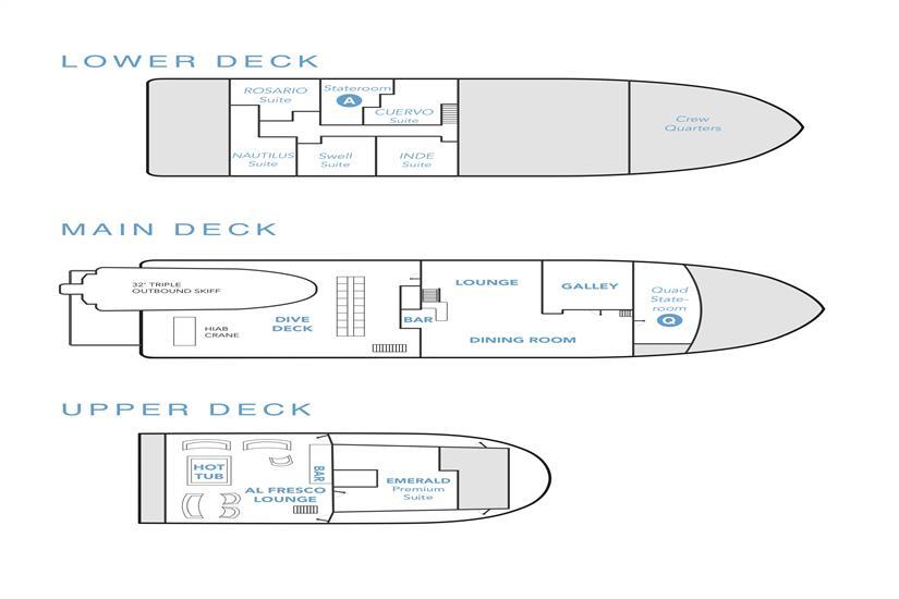 Nautilus Under Sea Deck Plan