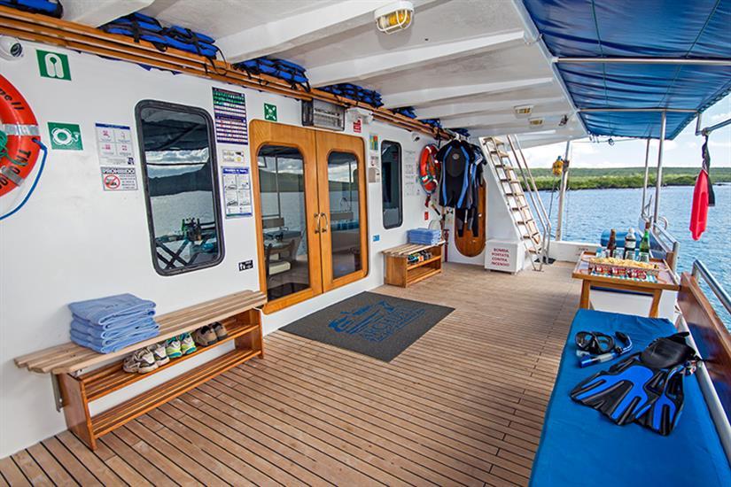 Activity deck - Archipell I Catamaran Galapagos