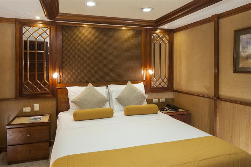 Double Stateroom - MY Grace Galapagos