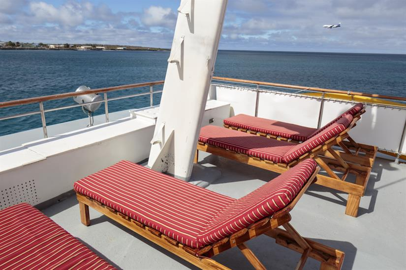 Sun Deck with Loungers