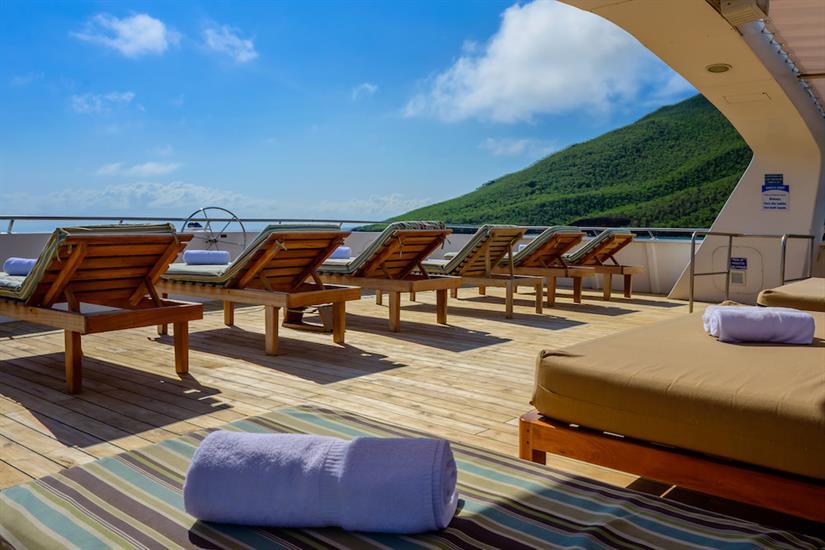 Large Sun Deck - Galapagos Seaman Journey