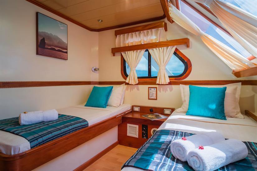 Twin Cabin - Galapagos Seaman Journey