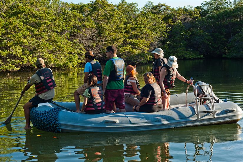 Panga Ride - Galapagos Seaman Journey
